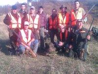 Lovačka sekcija Godačica - Odstrel divljeg vepra 25.11.2012.  73 kg bez utrobe