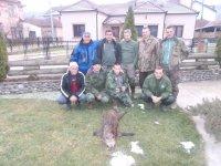 LS Mataruška Banja - odstrel Zlatić Dragana 15.12.2013.nazime 31 kg bez utrobe