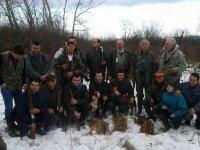 Dva šakala je odstrelio Mirosavić Radoš, a jednog Trnavac Milorad 03.01.2015.godine
